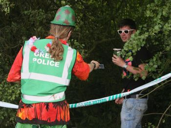 Glastonbury Green Police