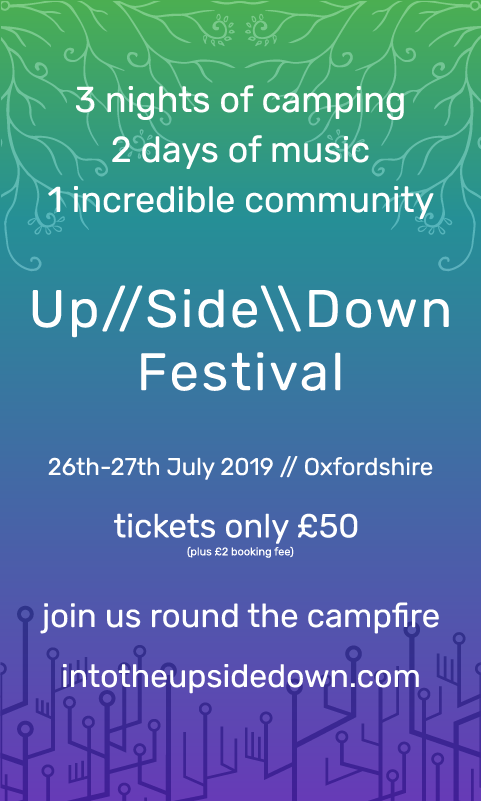 upsidedown festival oxfordshire 27-29 July 2019
