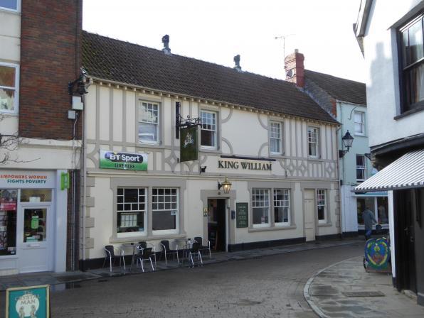 King William, 19 Market Pl, Glastonbury BA6 9HL